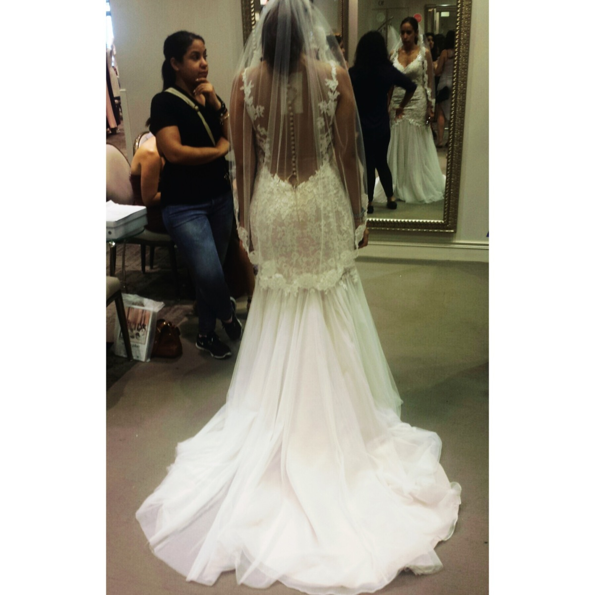 Stepping into your dreamdress